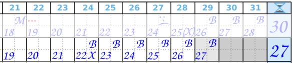 Zyklusende1 Beispiel 2 Zykluskalender