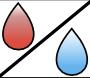 Eisprungkalender-Menstruation-Zervixschleim-Symbol