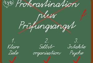 Prokrastination plus Prüfungsangst