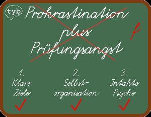 Prokrastination Prüfungsangst