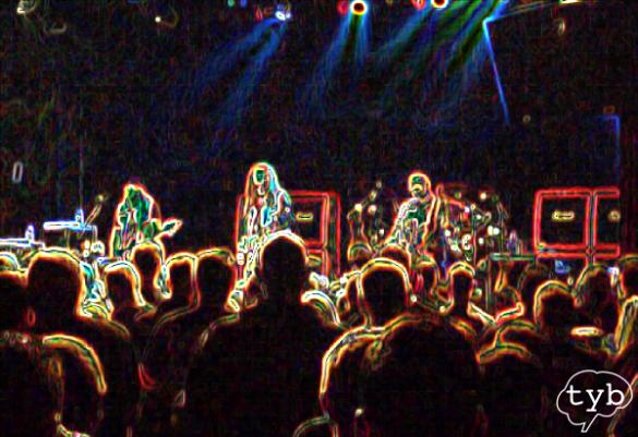 Rock-Konzert in der 33. Schwangerschaftswoche