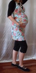 Beach-Party-Schwangerschaftsmode
