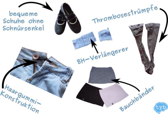 Mode-Tipps für die Schwangerschaft ohne Umstandsmode