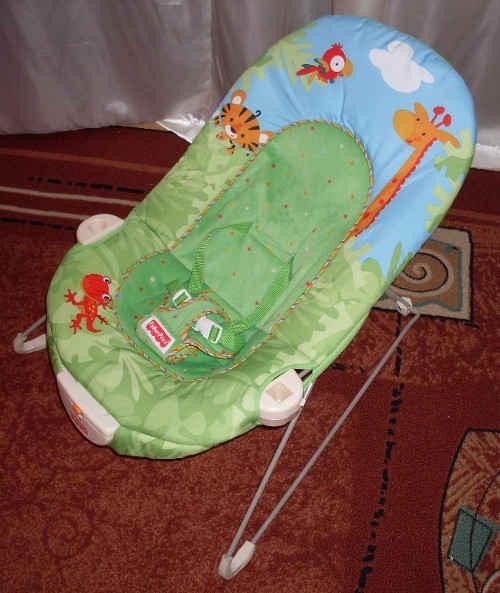 Vibrationswippe für das Baby