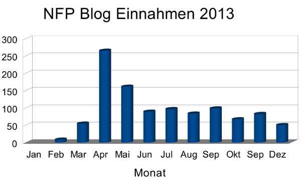 NFP Blogeinnahmen 2013