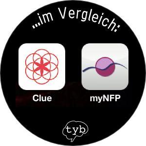 clue-App-myNFP-App-Vergleich