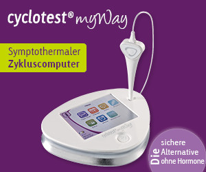 cyclotest myWay - symptothermaler Zykluscomputer - 300 x 250 Sidebar