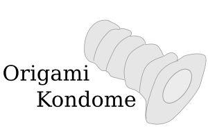 origami kondom