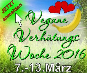 Vegane Verhütungswoche 2016 - Banner 300 x 250