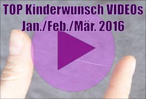 Die Top 5 Kinderwunsch Videos von Januar bis März 2016