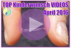 Die 5 besten Kinderwunsch Videos im April 2016