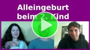 Alleingeburt beim 2. Kind – Interview mit Julia und Chris