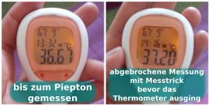 MTTLS NFP Thermometer - 3 Minuten Messtrick