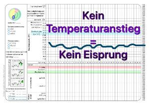 Temperatkurve ohne Eisprung