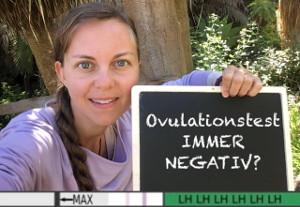Ovulationstest immer negativ