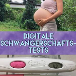 Digitaler Schwangerschaftstest